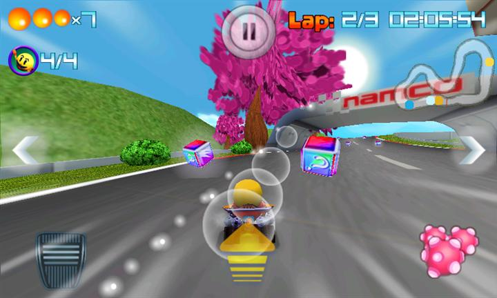 Pac-Man Kart Rally Race Screen 2