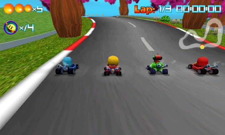 Pac-Man Kart Rally Race Screen 4