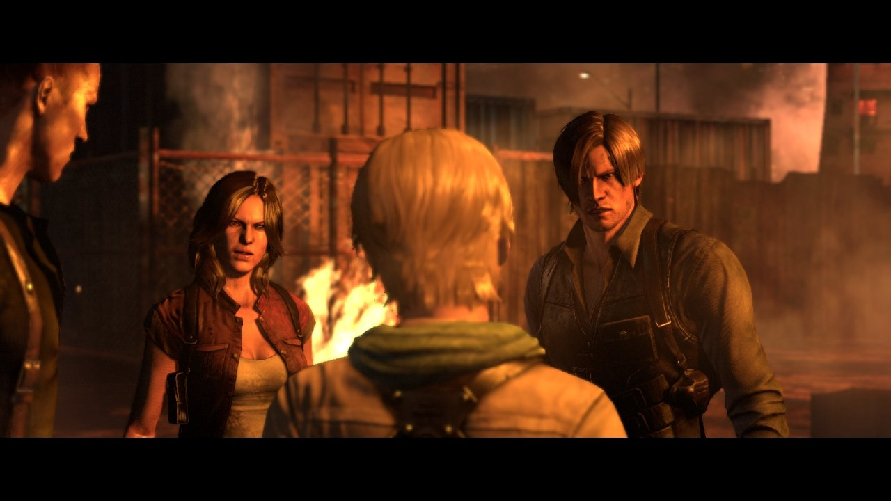 5/6/12 Crossover: Jake Muller, Sherry Birkin, Leon S. Kennedy and Helena Harper 1