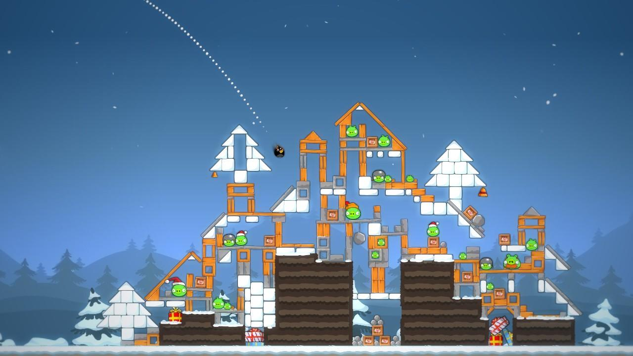 Angry Birds Trilogy screens from Gamescom