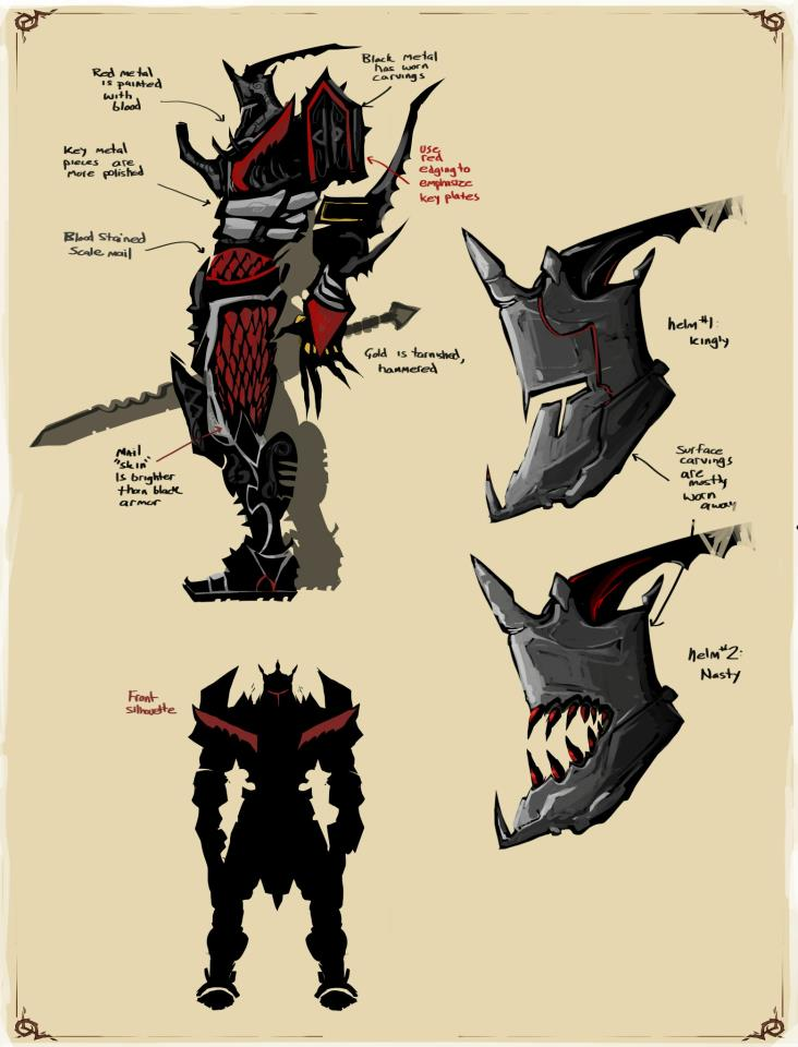 concept art Dark God