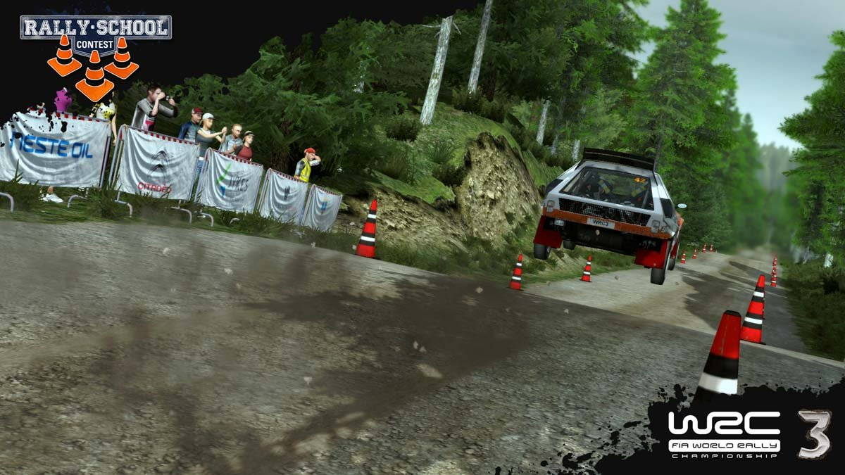 Rally School Contest Screen 2