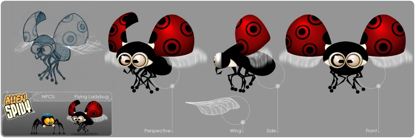 23/10/2012 - Flying Ladybug