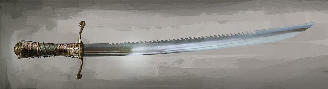 Sawtooth Sword
