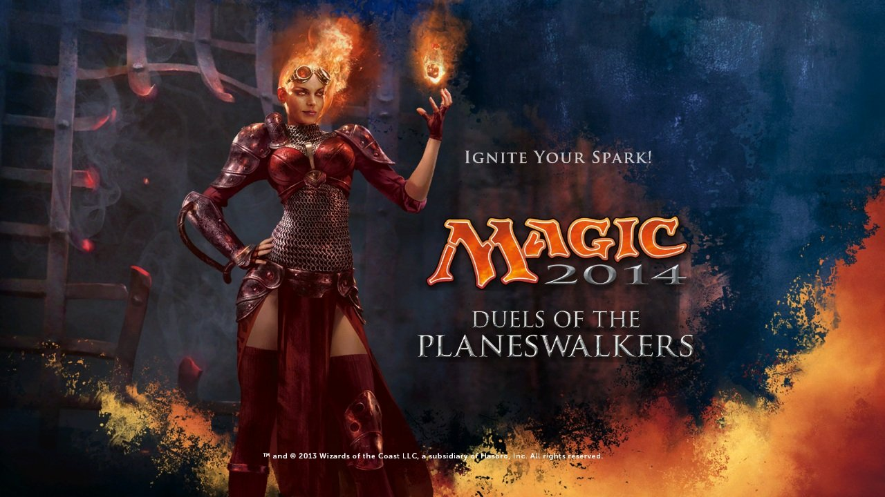 another Magic game. Magic: The Gathering - Duels of the Planeswalkers