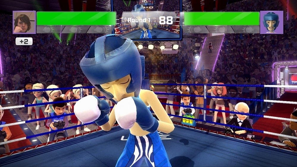 Boxing Games For Xbox One : Kinect sports gems boxing fight announced
