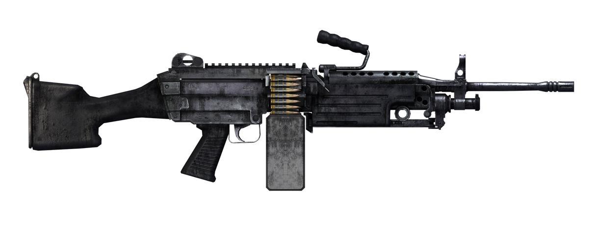 Light Machine Gun Saw Pin The M249 Saw Is A ...