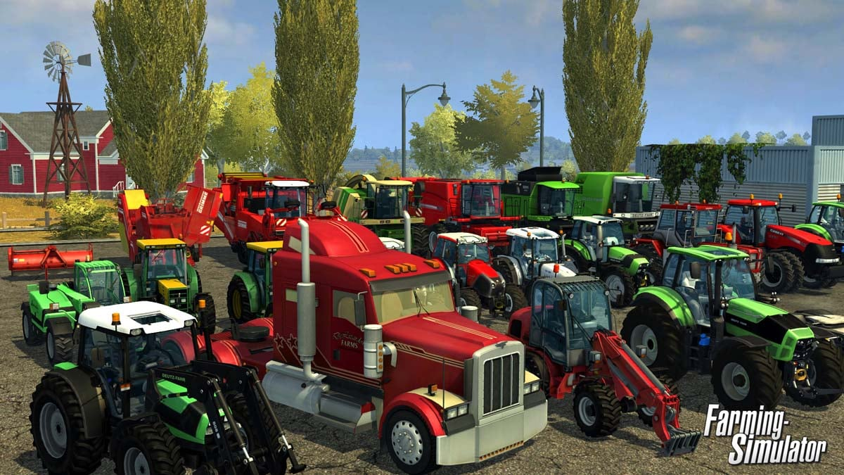 Farming Simulator 2013 is now set for release on September 4th.