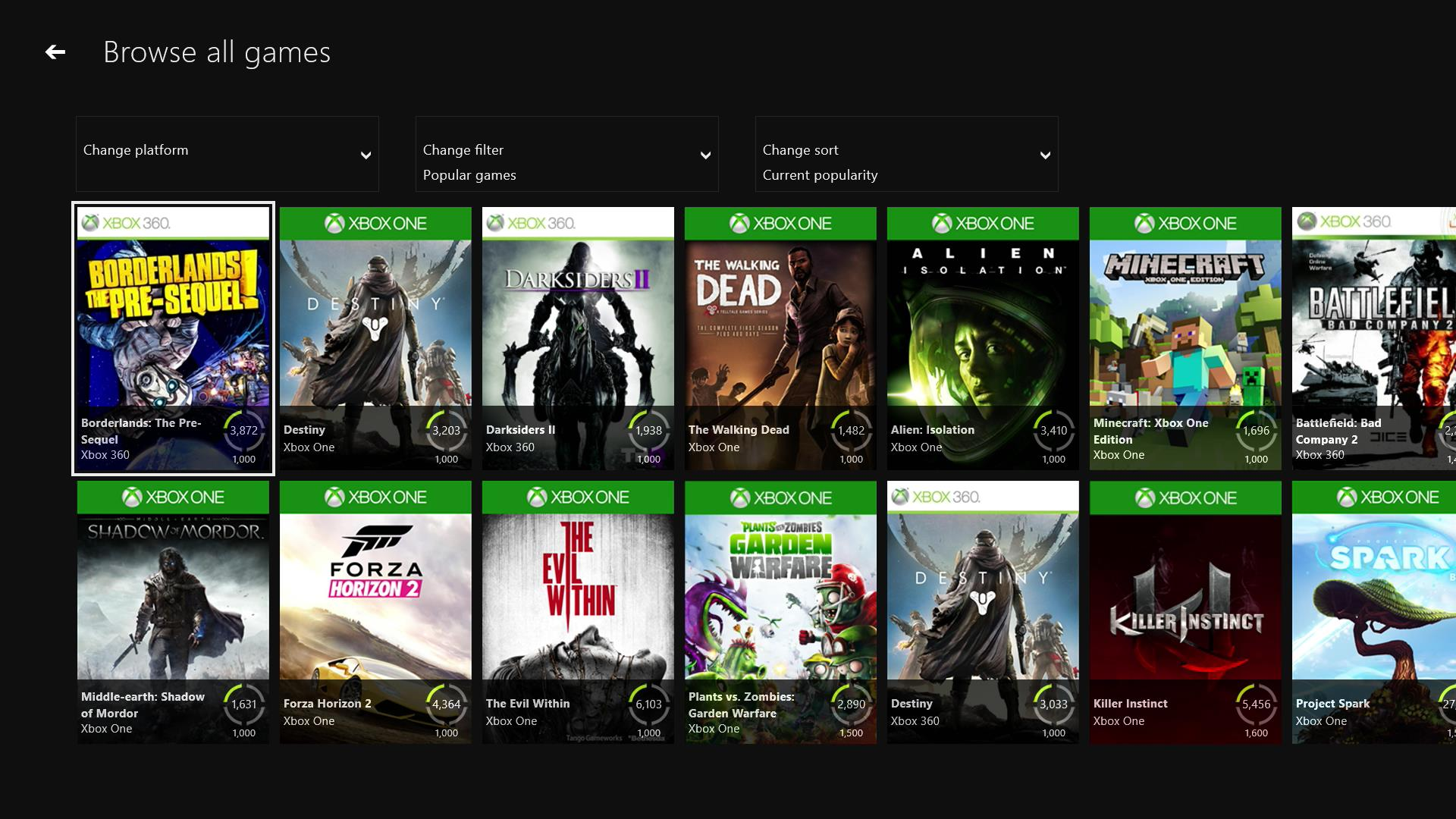 All Xbox Games List : All xbox one games list pixshark images