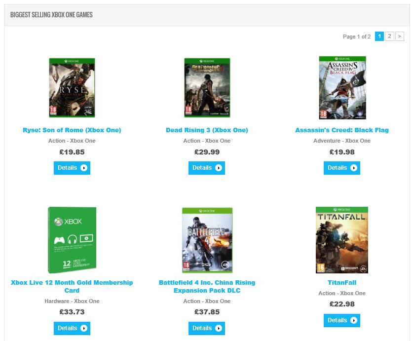 Games on GameCompare