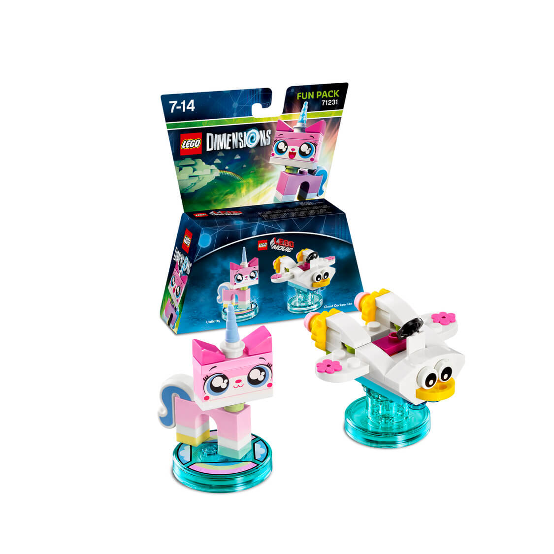 Unikitty And A Cloud Cuckoo Car