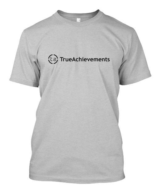 Official TrueAchievements grey t-shirt - $14.99 / £9.99
