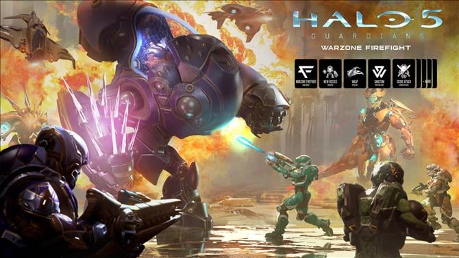 Halo 5: Guardians is Free Next Week to Celebrate Warzone Firefight