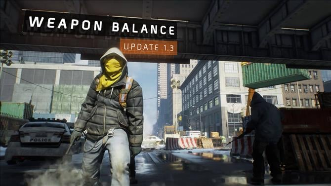 Tom Clancy's The Division Balances Weapons In Update 1.3