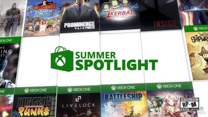 Summer Spotlight Starts Today on Xbox Live