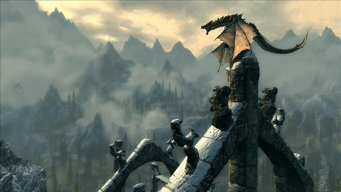 The Elder Scrolls V: Skyrim Special Edition Swoops in With a New Trailer