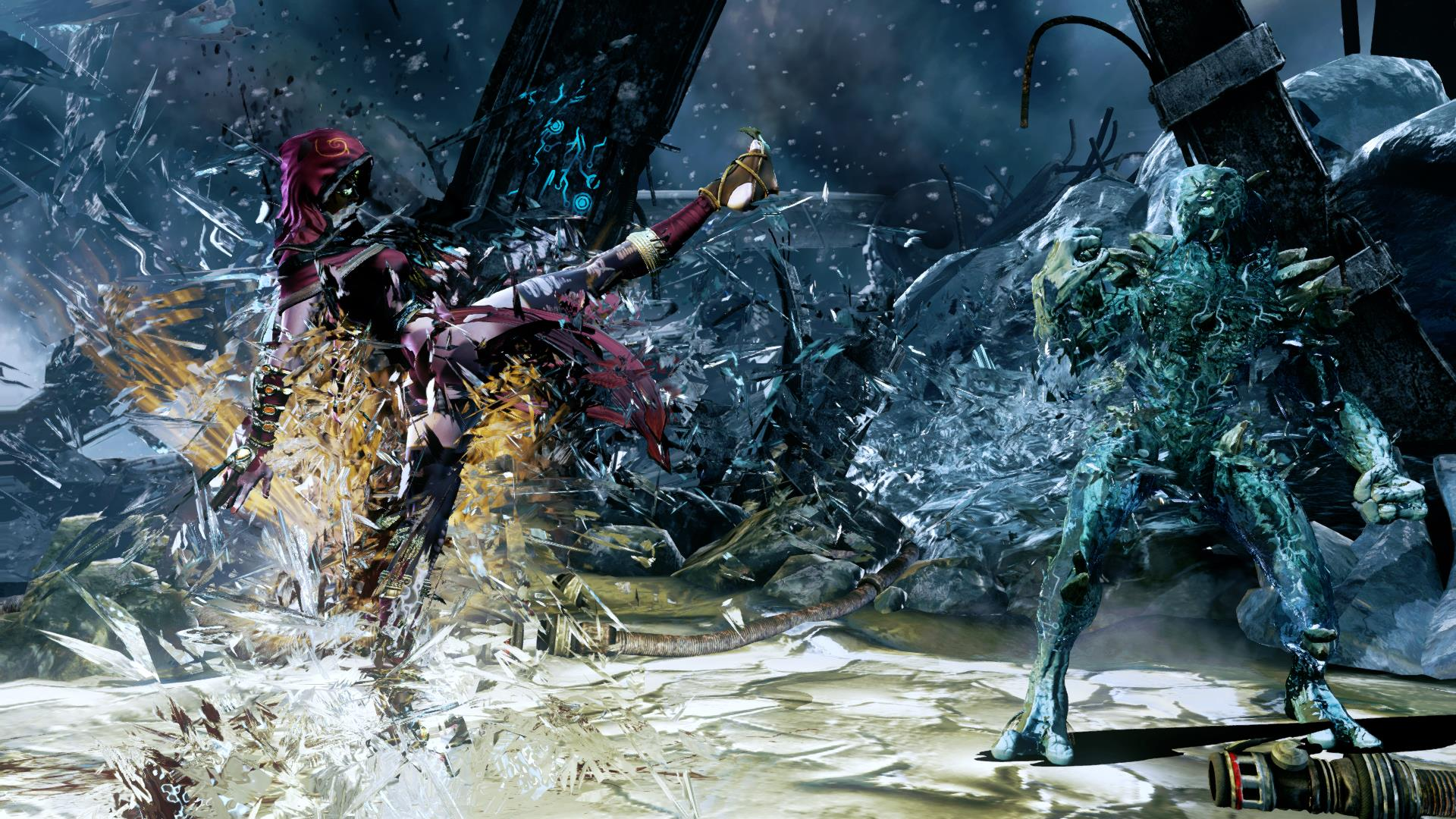 Glacius' Endurance in Killer Instinct