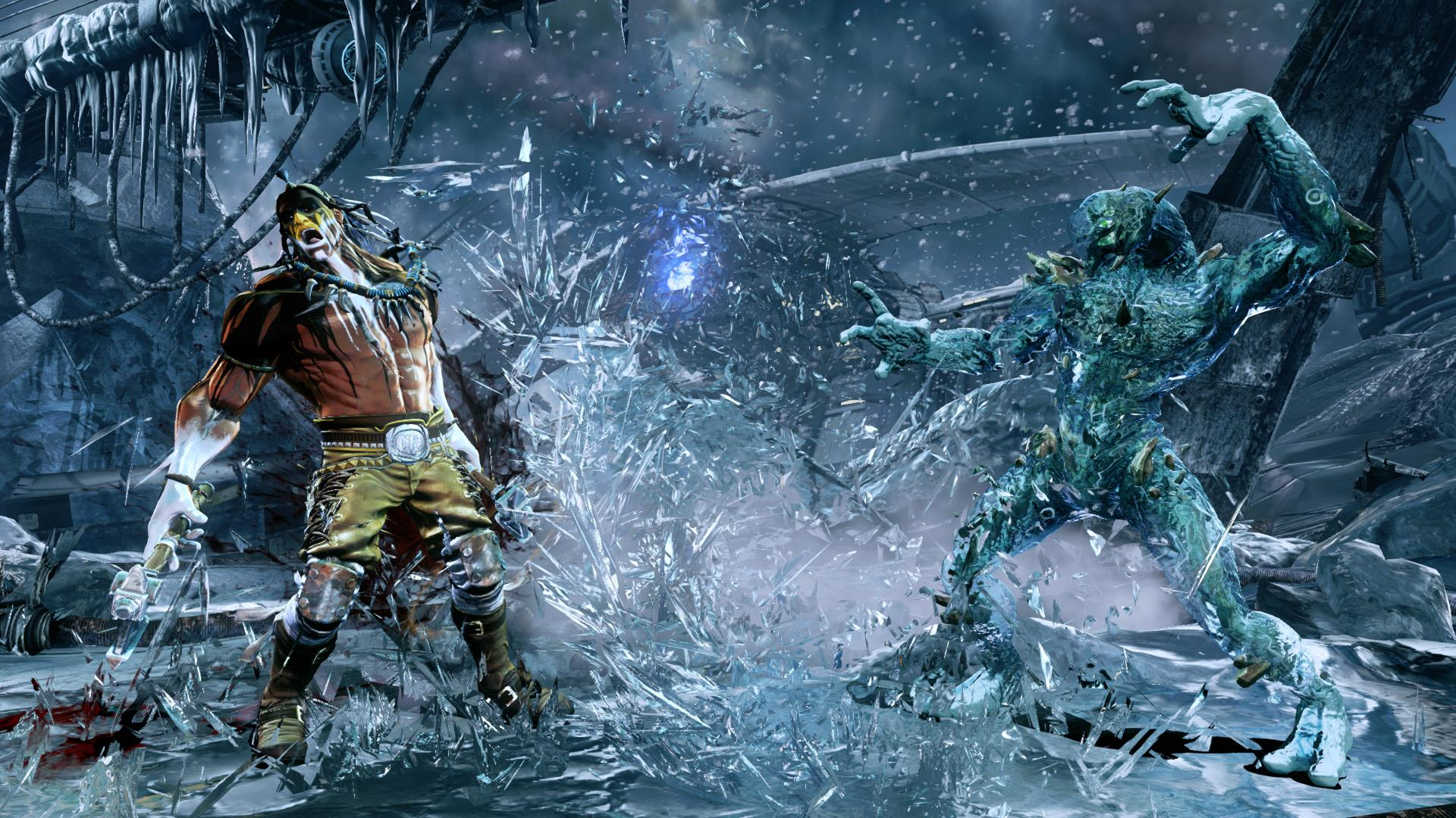 Survival Glacius in Killer Instinct