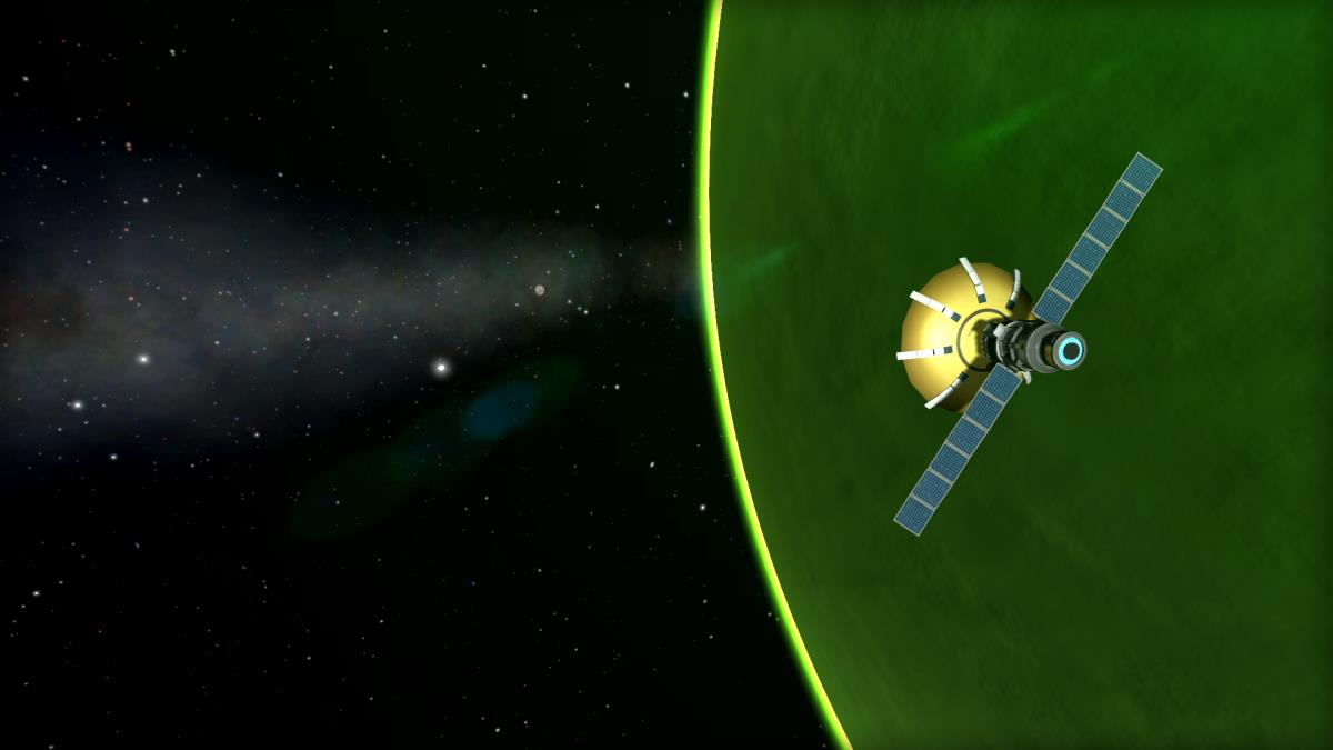 Fly Me to the Mun Achievement in Kerbal Space Program