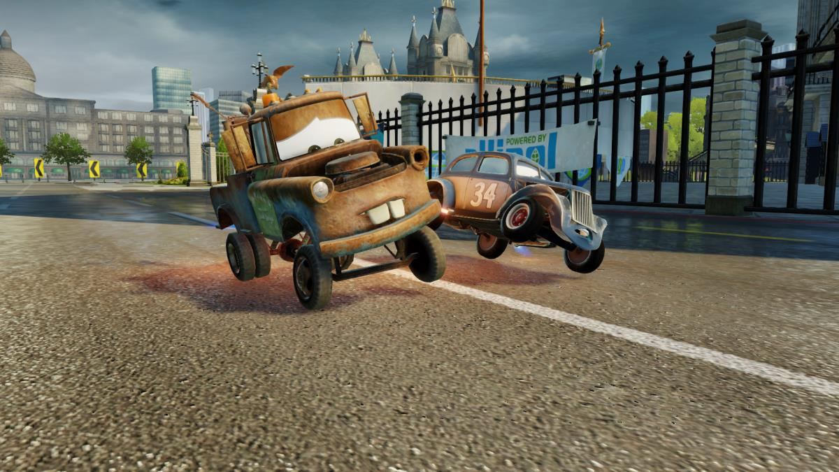 Bashing Through Achievement In Cars 3 Driven To Win