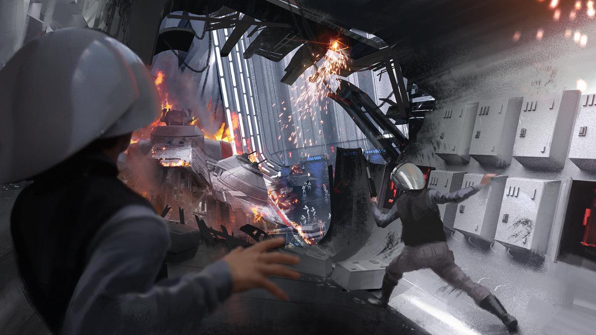Scoped achievement in Star Wars Battlefront II