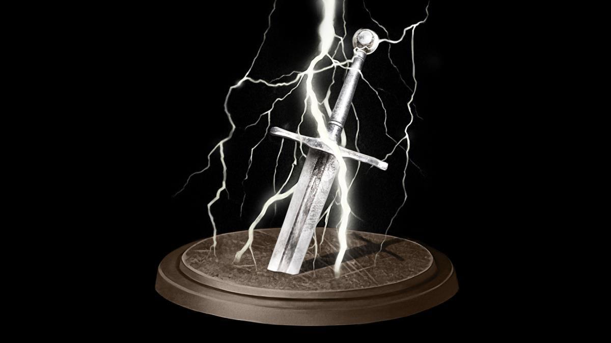 Lightning Weapon Achievement In Dark Souls Remastered Titanite chunk for weapon reinforcement. lightning weapon achievement in dark