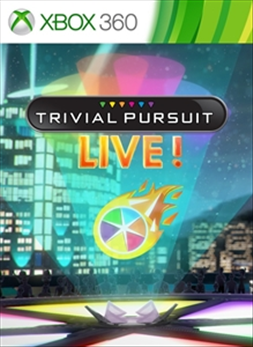 TRIVIAL PURSUIT LIVE! (Xbox 360)