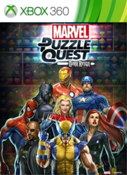 Marvel Puzzle Quest: Dark Reign (Xbox 360)