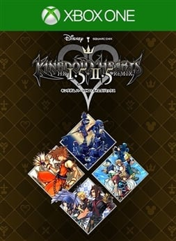 KINGDOM HEARTS - HD 1.5+2.5 ReMIX - (JP)