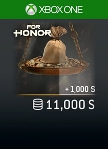 FOR HONOR 11 000 STEEL Credits Pack