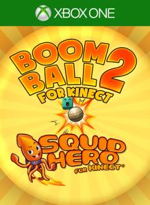Kinect Bundle: Boom Ball 2 + Squid Hero