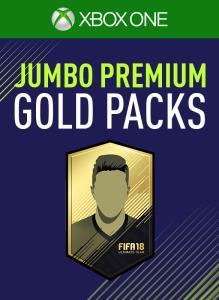 5 Jumbo Premium Gold Packs