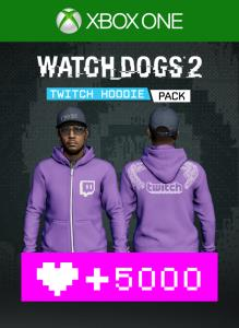 Watch Dogs2 - Twitch Hoodie