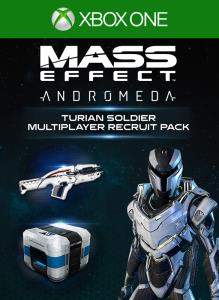Mass Effect Andromeda Turian Soldier Multiplayer Recruit Pack On