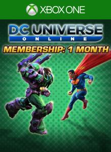 DC Universe Online 1-Month Membership