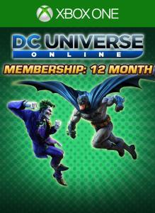 DC Universe Online 12-Month Membership