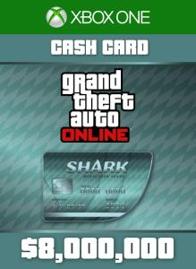 Megalodon  Shark Cash Card