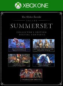 The Elder Scrolls Online: Summerset Collector's Edition Upgrade on