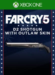 Far Cry5 - D2 Shotgun with Outlaw Skin