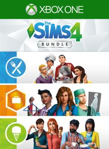 The Sims 4 Bundle - Get to Work, Dine Out, Cool Kitchen Stuff