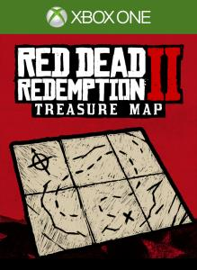 Red Dead Redemption 2:  Treasure Map