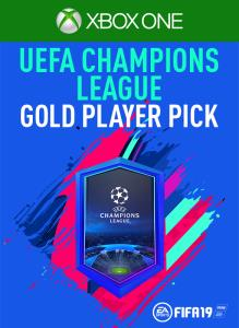 UEFA CHAMPIONS LEAGUE GOLD PLAYER PICK