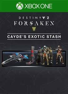 3b978ffe6fd Best price for Destiny 2  Forsaken - Cayde s Exotic Stash on Xbox One
