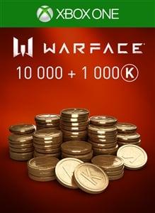 Warface - 10 000 Kredits