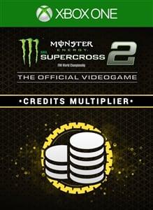 Monster Energy Supercross 2 - Credits Multiplier