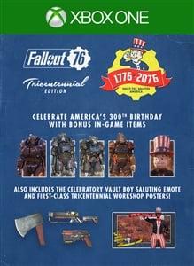 Fallout 76: Tricentennial Pack Upgrade