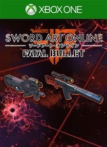 SWORD ART ONLINE: FATAL BULLET GGO Hero in the Making Weapons