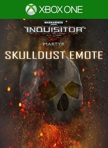 Warhammer 40,000: Inquisitor - Martyr | Skulldust emote