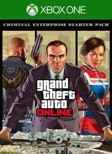 GTAV Starter Pack for Premium Online Edition on Xbox One