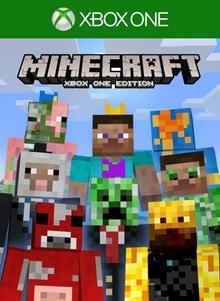 Minecraft 1st Birthday Skin Pack